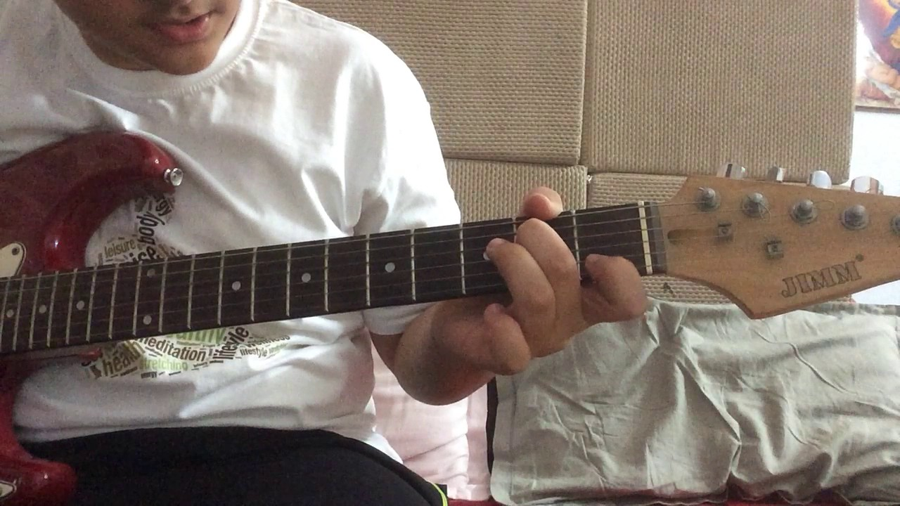 Holiday Chords In Guitar Youtube
