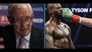 BARRY HEARN FIRES BACK AT DEONTAY WILDER!! WE RUN THE SHOW!!