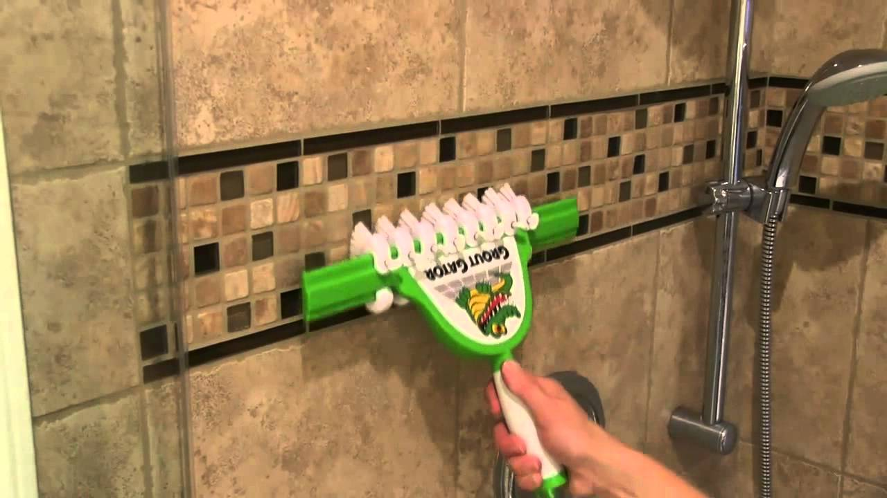 how to get mold out of grout lines