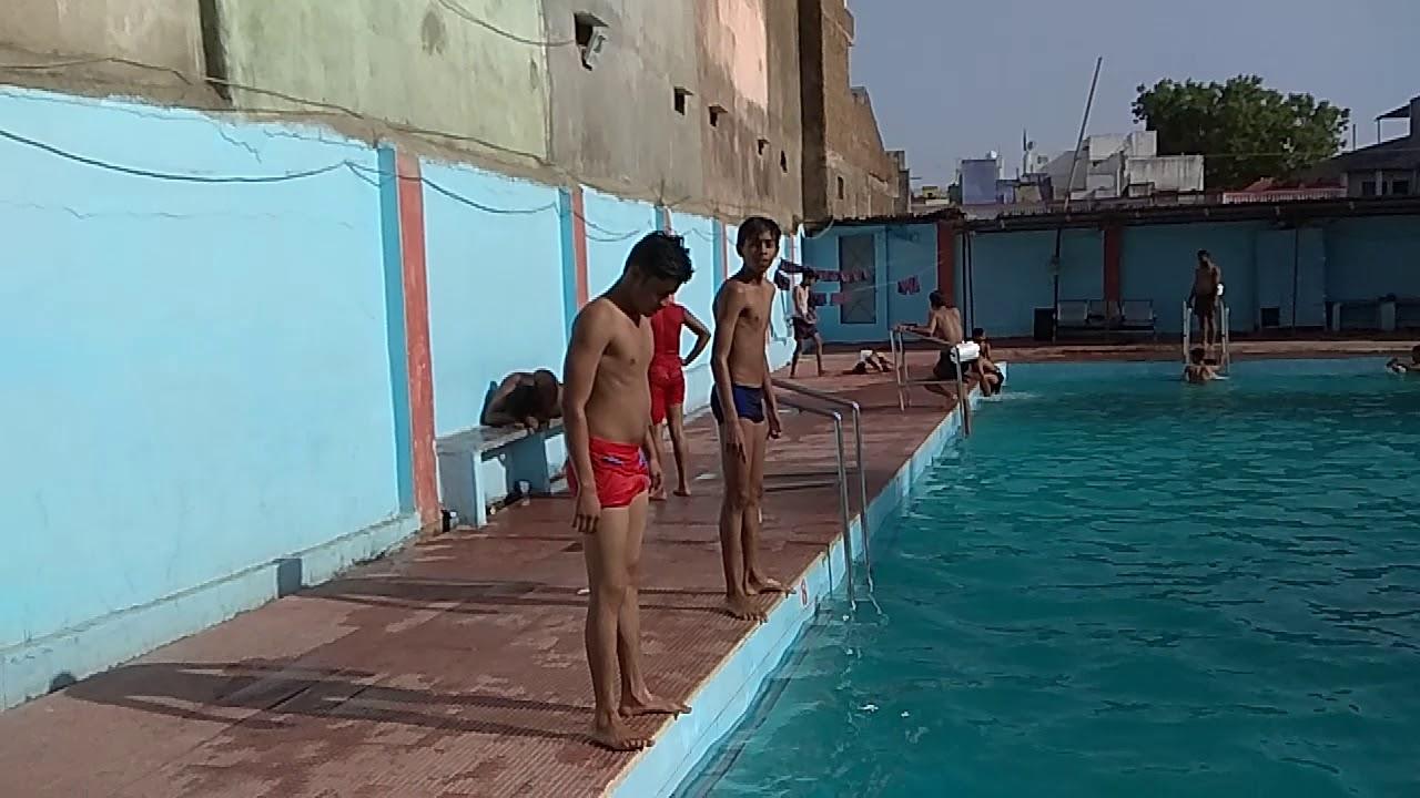 Dolphin swimming pool ratlam - YouTube