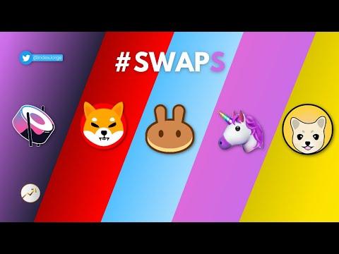 🦄 ¿QUÉ SON LOS SWAPS? 🥞 ¿CÓMO FUNCIONAN?   SHIBA SWAP, UNISWAP, PANCAKE SWAP Y OTROS