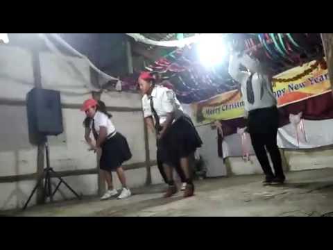Purum women's entertaining in Christmas social night gathering( awanglei,akhute,rati,akim)