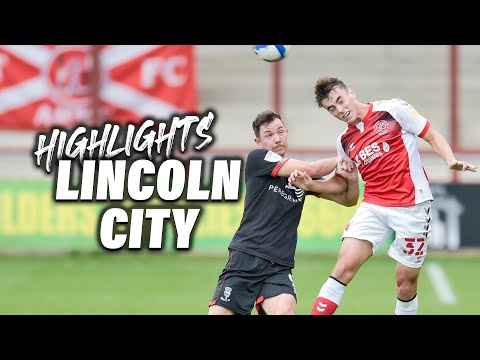 Fleetwood Town Lincoln Goals And Highlights