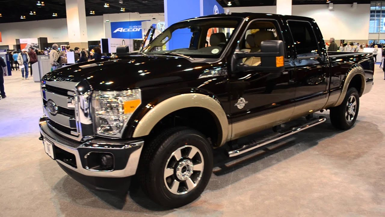 2013 Ford Super Duty 4x4 Double Cab