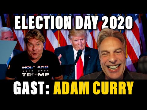 ELECTION DAY 2020 - GAST: ADAM CURRY - DE JENSEN SHOW #247