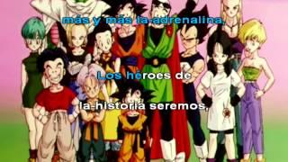 El Poder Nuestro Es - Dragon Ball Z Latino - Karaoke