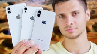 NEW iPhone Xr & Xs Max Models Hands On!