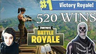 [FR/PC/LIVE] Fortnite en solo 520 wins!