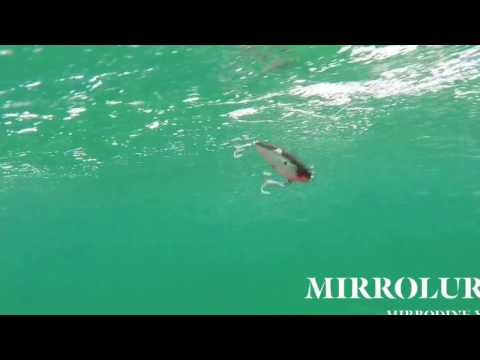How Lures Swim  MirrOlure Mirrodine XL