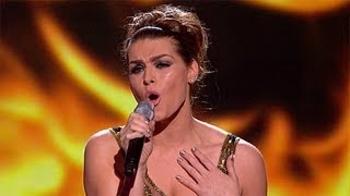 Carolynne Poole sings for survival - Live Week 1 - The X Factor UK 2012