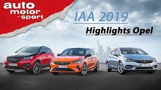 Die Opel-Highlights der IAA 2019 - Hochvoltalarm! I auto motor und sport