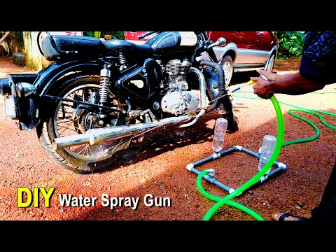 How To Make A Car/Bike Wash Equipment At Your Home | Craft Village