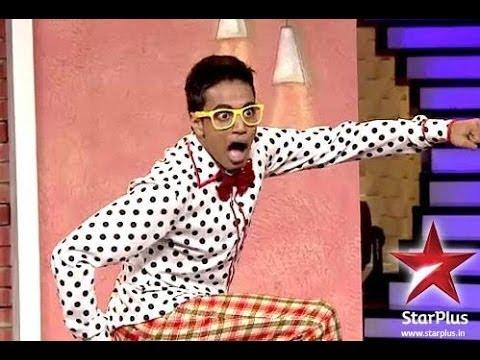 Abhash Mukherjee Brodway on Star Plus Just Dance