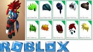 Try To Wear 10 Hair Roblox | Try wearing 10 hair | MinhMaMa