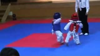 Karate kids contest 小孩跆拳道 太可愛了~