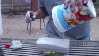 Cooking | Fabricando Moldes para Plomadas de Pesca Making molds fishing sinkers