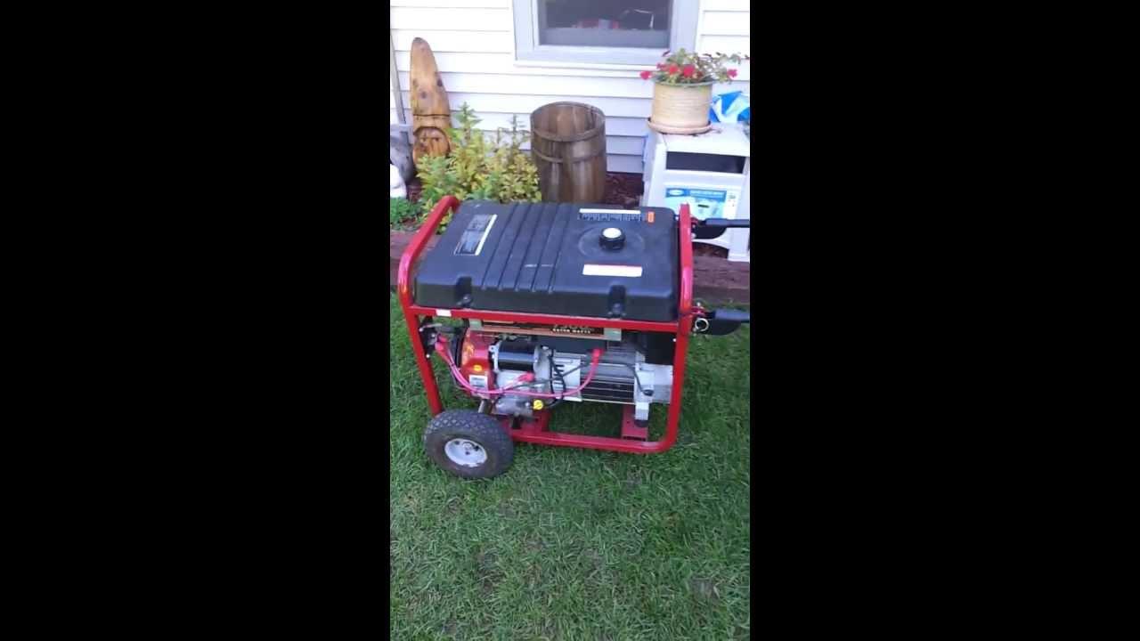 homelite 3500 watt generator manual
