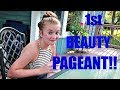 TEENAGE GIRL'S FIRST BEAUTY PAGEANT!!