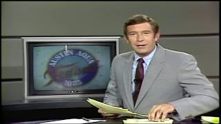 "KVUE REWIND: Dick Ellis anchors story on ""Aqua Fest 1985""   KVUE"
