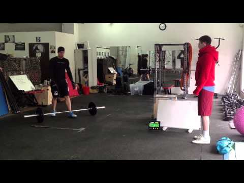 Workout 13.2 - Max Dokuchaev. Crossfit Open 2013