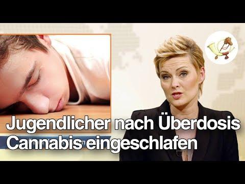 Jugendlicher nach Überdosis Cannabis eingeschlafen [Postillon24]