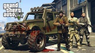 GTA 5 Зомби Апокалипсис #8 - ОХОТНИКИ НА ЗОМБИ! (ГТА 5 МОДЫ)