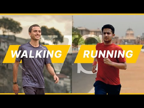 Walking vs Running | What is the difference?