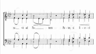 Bruckner In Monte Oliveti Score