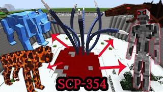 무한으로 괴물들을 소환하는 피의 웅덩이 SCP-354 [ 마인크래프트 SCP ] l 휴지(HueZ)