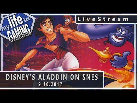 Aladdin SNES 9.10.2017 :: LiveStream - Aladdin SNES 9.10.2017 :: LiveStream