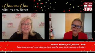 Saundra Pelletier, Evofem – 2020 PharmaVOICE 100 Celebration