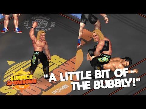 Fire Pro Wrestling World - PCW Summer Showdown #1 - A Little Bit Of The BUBBLY!