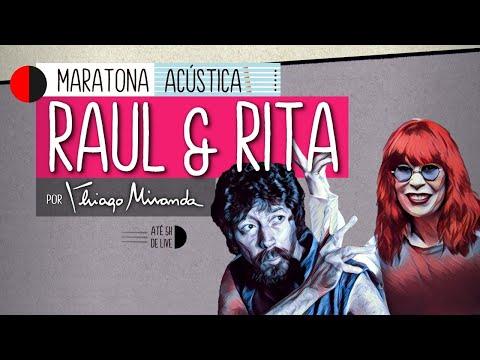Live Maratona Acústica RAUL Seixas & RITA Lee por Thiago Miranda #FiqueEmCasa #LiveDoMiranda #90