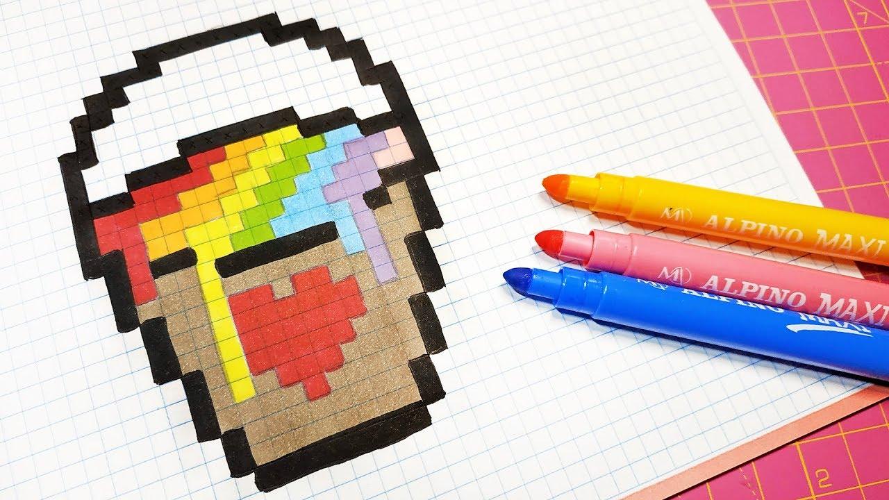 pixel bilder zum nachmalen  viel spass beim nachmalen