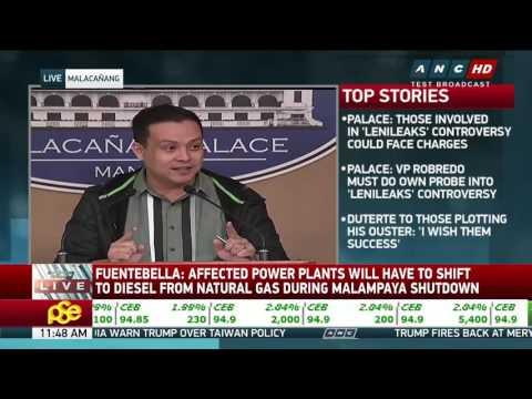 Malampaya shutdown could push power rates higher: energy dept