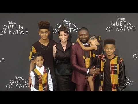 "David Oyelowo, Jessica Oyelowo & Kids ""Queen of Katwe"" Premiere"