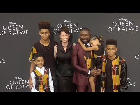 David Oyelowo, Jessica Oyelowo & Kids