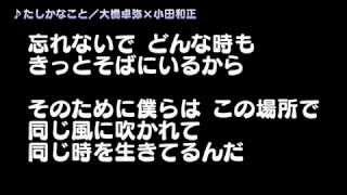 たしかなこと/大橋卓弥の動画