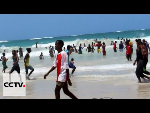 Somalia's Improving Security: Mogadishu residents now frequent Liido Beach for some fun