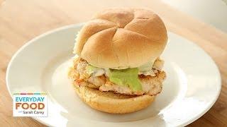Shrimp Burgers - Everyday Food With Sarah Carey