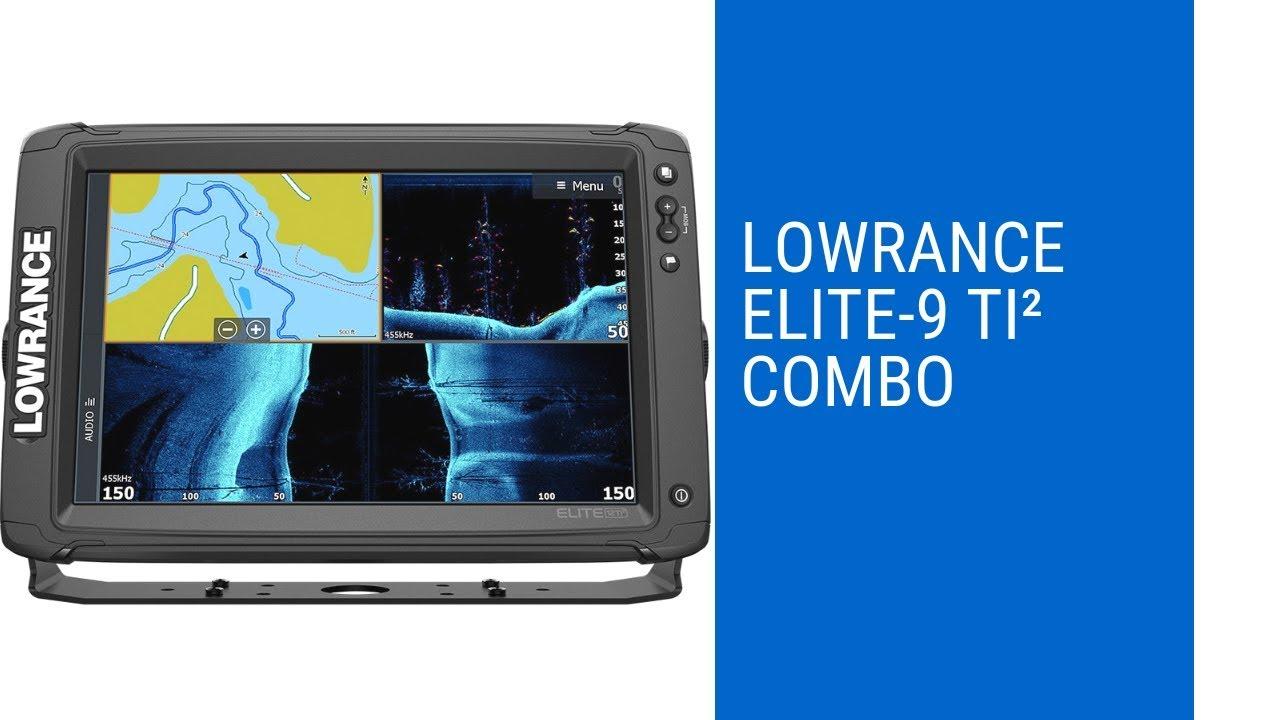 Lowrance Elite 9 Ti Combo review