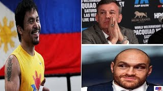 MANNY PACQUIAO IS MORE OF A CHEATER THEN TYSON FURY SAYS TEDDY ATLAS ! LOOK AT HIS HISTORY