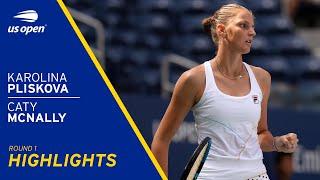 Karolina Pliskova vs Caty McNally Highlights