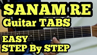 SANAM RE Guitar Tabs/intro/Lead Lesson | Arijit Singh | fuZaiL Xiddiqui