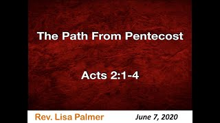 The Path From Pentecost