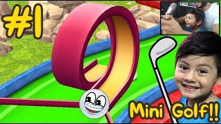 Mini Golf 3D en el Bosque Animado | Mini Golf Cartoon Forest | Juegos Android