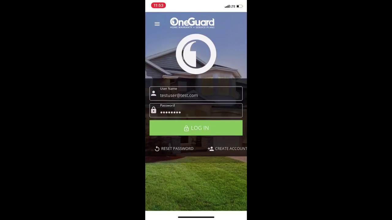 Oneguard Customer App Demo Youtube