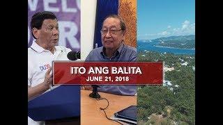 UNTV: Ito Ang Balita (June 21, 2018)