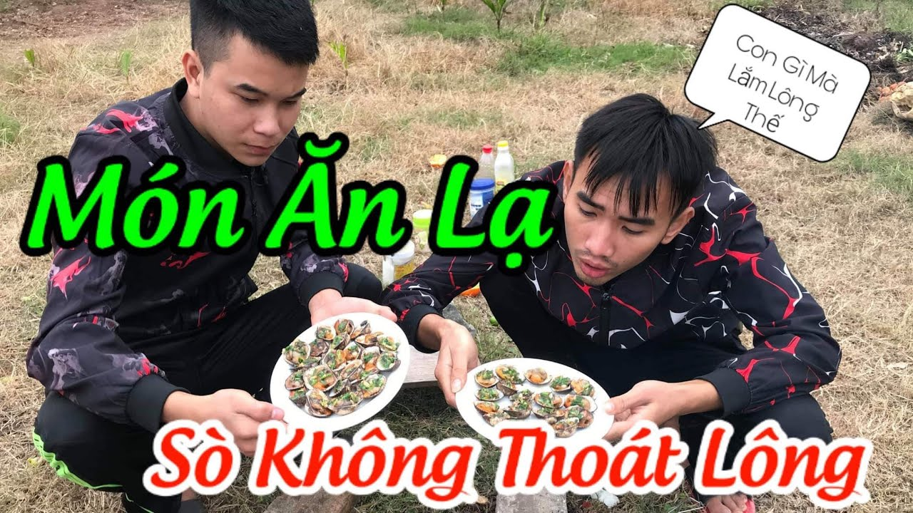 [ Ẩm Thực ] Sò Lông Nướng Mỡ Hành Lần Đầu Bao Ngon MunAFVlog