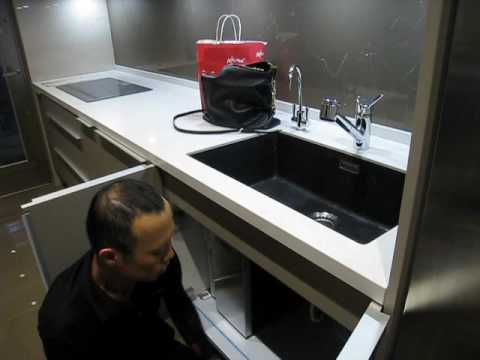 kwc kitchen faucet small space tables for 工作區廚具kwc伸縮龍頭教學 youtube